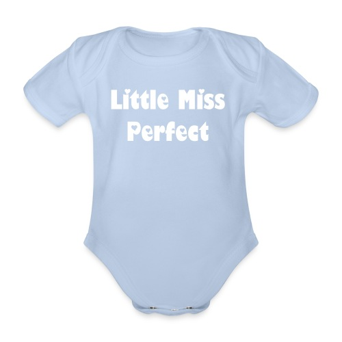 Personalised Baby One-Piece - Organic Short-sleeved Baby Bodysuit