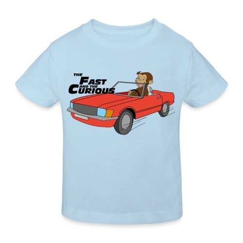 The Fast & the Curious - Kids' Organic T-shirt