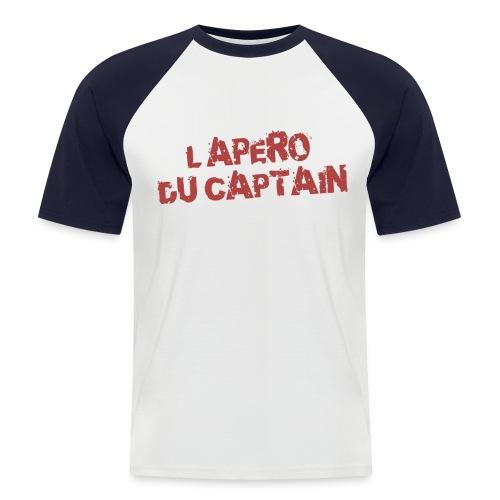 l'apero c'est djeuns - T-shirt baseball manches courtes Homme