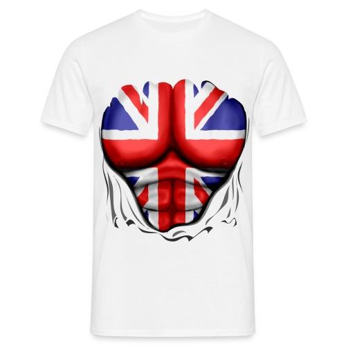 UK Ripped - Men's T-Shirt