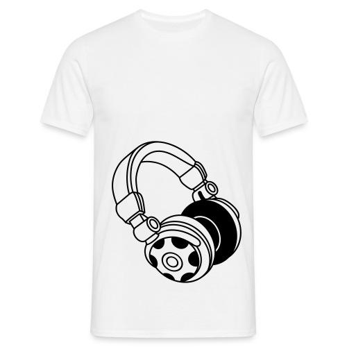 head set - T-skjorte for menn