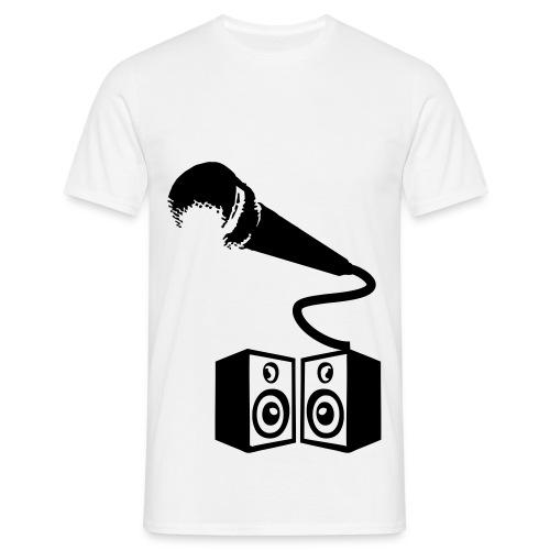 strereo mic - T-skjorte for menn