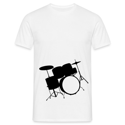 drumset - T-skjorte for menn