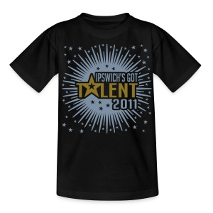 Ipswich's Got Talent 2011 (Shiny) - Teenage T-shirt