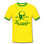 T-Shirts ~ Men's Ringer Shirt ~ The Taxman Cometh