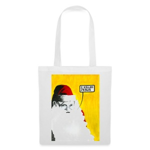 Santa: I Killed Jesus Tote Bag - Tote Bag