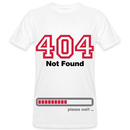 Kingsmileys - 404 not found - Men's Organic T-Shirt