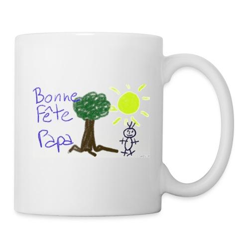 Tasse fête papa - Mug blanc