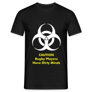 Bio Hazard Rugby Bag - Men's T-Shirt