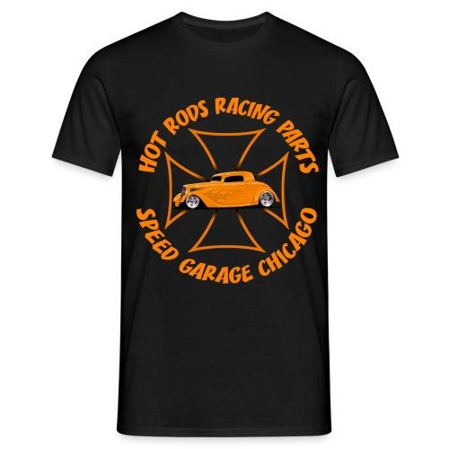 t-shirt hot rods racing parts - Men's T-Shirt