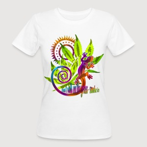 DON'T WALK ON THE GRASS - SMOKE IT! | Frauenshirt organic - Frauen Bio-T-Shirt
