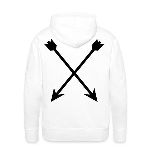 Aim Your Arrows High! Hoodie - Men's Premium Hoodie