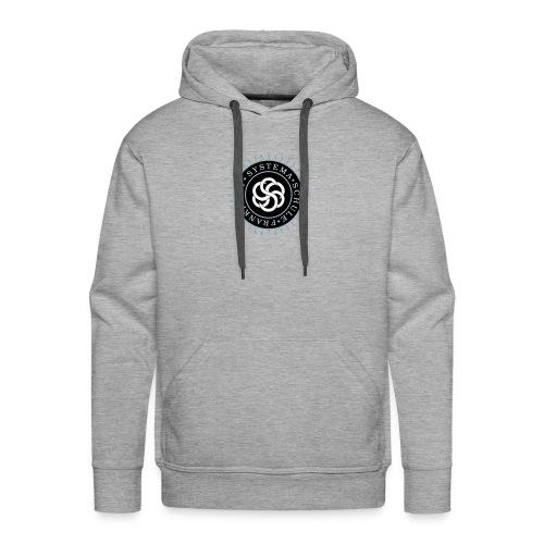 Männer - Hoodie grau, Systema Logo vorne - Männer Premium Hoodie