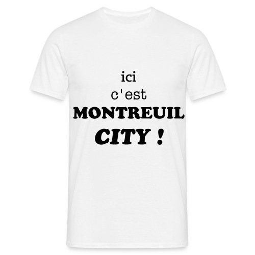 classic MONTREUIL CITY - T-shirt Homme