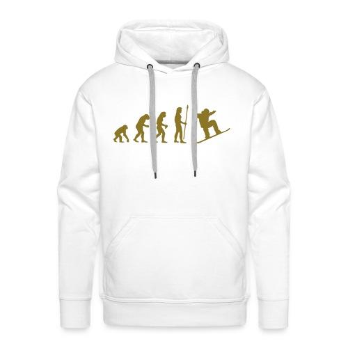 Evolution Snowboarding - Männer Premium Hoodie