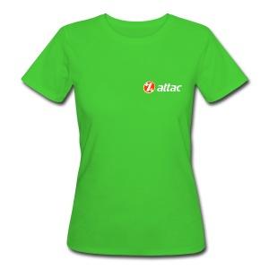 Attac Girly - Frauen Bio-T-Shirt