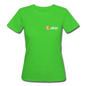 Attac Girly - Frauen Bio-T-Shirt