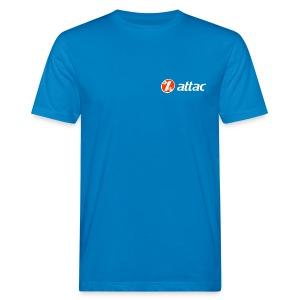 Attac Logo Unisex - Männer Bio-T-Shirt