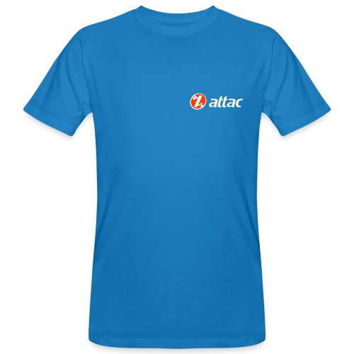 Attac Logo Unisex - Men's Organic T-Shirt