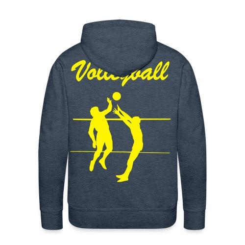 E&R Volley - Sweat-shirt à capuche Premium pour hommes