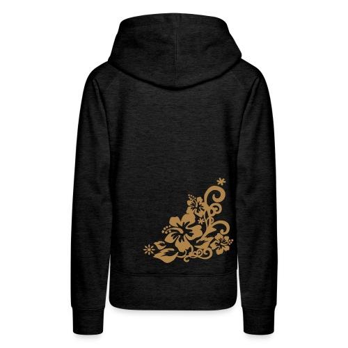 E&R Flowers - Sweat-shirt à capuche Premium pour femmes