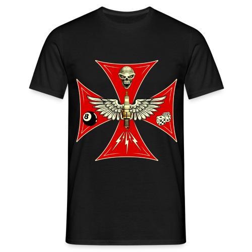 Racing cross t-shirt - Men's T-Shirt
