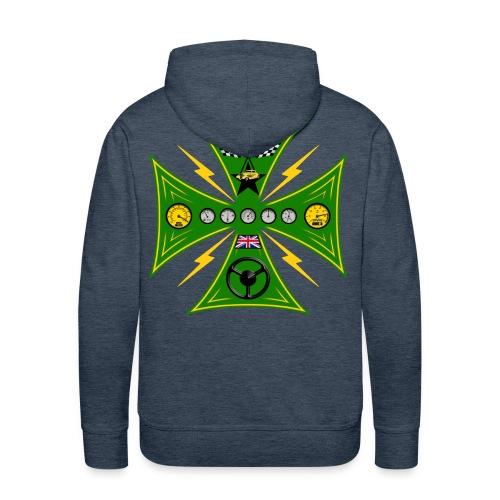 Racing cross sweatshirt - Men's Premium Hoodie