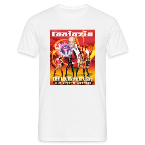 Fantazia Legend Returns S/S T Front - Men's T-Shirt