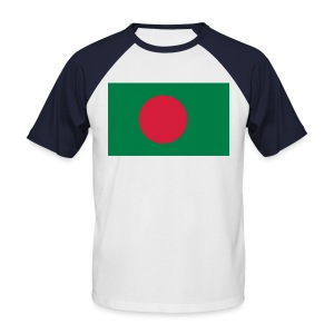 I love Bangladesh! I Love my Mother! - Men's Baseball T-Shirt