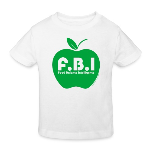 F.B.I - Food Balance Intelligence Shirt Kids - Kinder Bio-T-Shirt