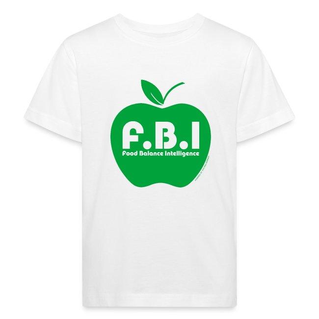 F.B.I - Food Balance Intelligence Shirt Kids