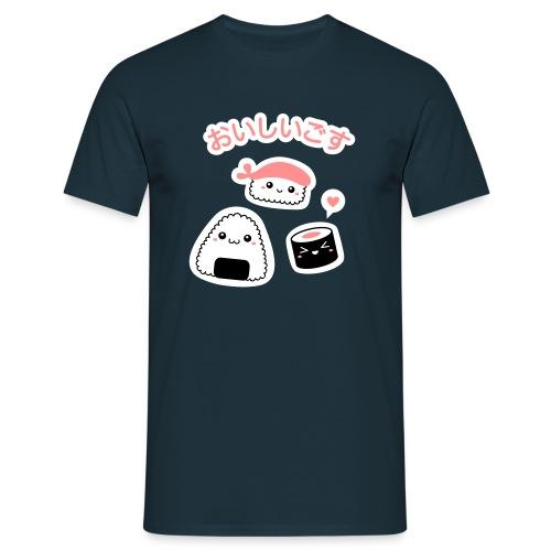 Oishii Sushi! - Männer T-Shirt