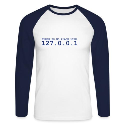 127.0.0.1 - Männer Baseballshirt langarm
