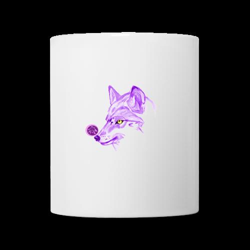 Tasse Loup Logo - Mug blanc