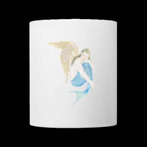 Tasse Sirène angélique  - Mug blanc