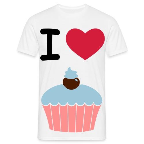 I love cake - Herre-T-shirt