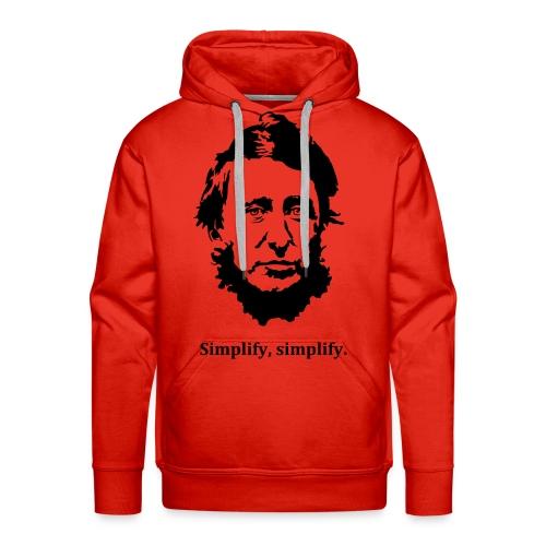 Men's Simplify Simplify Thoreau Hoodie - Men's Premium Hoodie