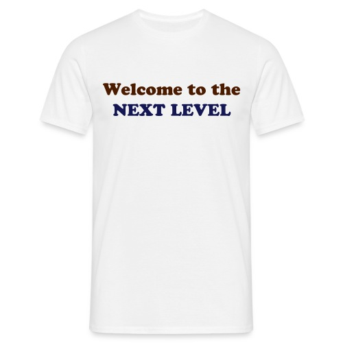 T-shirt Homme Welcome to the Next Level - T-shirt Homme