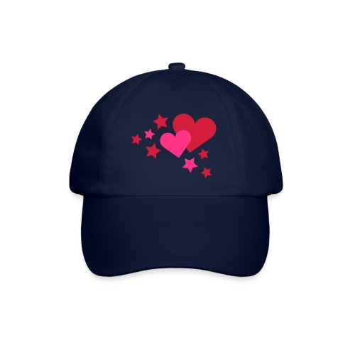 Herzen - Baseballkappe