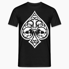 Ace of Spades Men's shirt - black/white