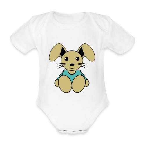 Body bébé lapin - Body bébé bio manches courtes