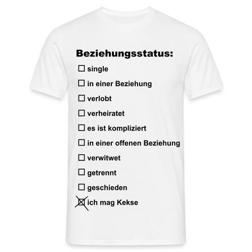 Beziehungsstatus - Männer T-Shirt