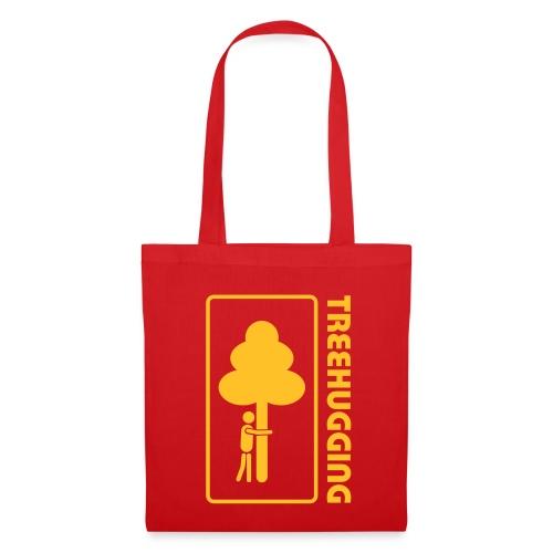 Shirt Wald Baum Bäume Treehugging Natur Treehugger tree hugger Umwelt Umweltschutz - Stoffbeutel