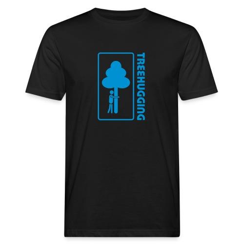 Shirt Wald Baum Bäume Treehugging Natur Treehugger tree hugger Umwelt Umweltschutz - Männer Bio-T-Shirt