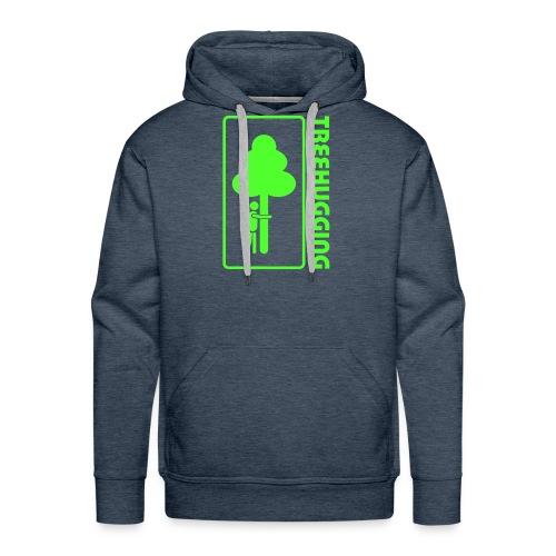 Shirt Wald Baum Bäume Treehugging Natur Treehugger tree hugger Umwelt Umweltschutz - Männer Premium Hoodie