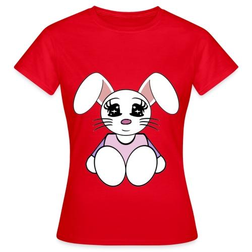 T shirt femme lapin - T-shirt Femme