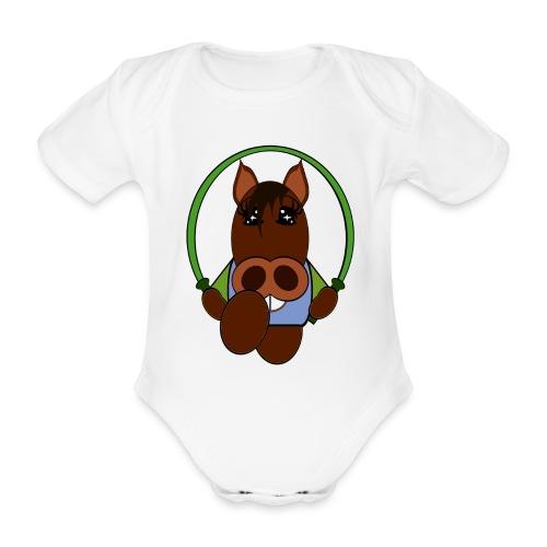 Body bébé cheval - Body bébé bio manches courtes