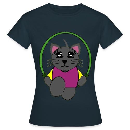 T shirt femme chat - T-shirt Femme