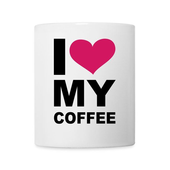 taza love my coffe