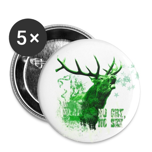 Jägermeisterbuton - Buttons klein 25 mm
